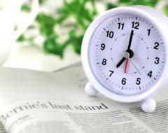 滞在時間時計